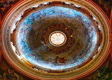 Roof inside of St Peters Church Stock Images