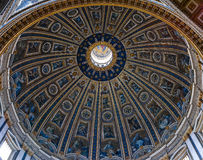 Roof inside of St Peters Church Royalty Free Stock Images