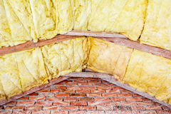 Roof insulation Stock Photos