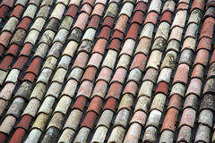Roof Italian Tile Royalty Free Stock Images