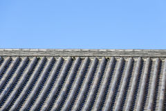 Roof of japanese style Royalty Free Stock Image