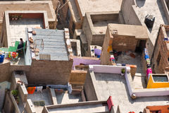 Roof of Jodhpur, the blue city. Royalty Free Stock Photo