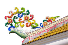 Roof of joss house Stock Photos