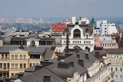 Roof kiev Stock Image