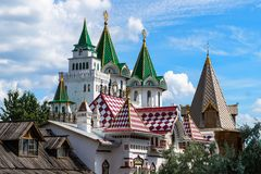 The roof of the Kremlin, Moscow, Russia royalty free stock photo