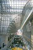 Roof of Kyoto Station Stock Photography