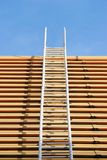 Roof ladder Royalty Free Stock Photography