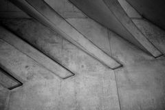 The roof of Liège-Guillemins railway station Stock Photo