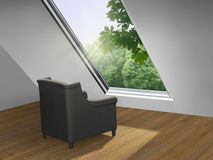 Roof Light Royalty Free Stock Image