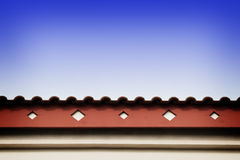 Roof line with fascia Stock Image