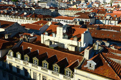 Roof of Lisbon, Portugal Stock Photos
