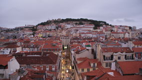 Roof of Lisbon, view from top Stock Image