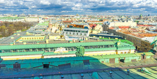 The roof of Lobanov-Rostovsky Palace in St Petersburg Stock Photos