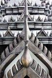 Roof of Lohaprasat in Wat Ratchanatdaram Worawihan Stock Image