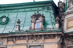 The roof of Lviv. In the historical city centre. Lviv. Ukraine Royalty Free Stock Photo