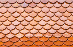 Roof made of tiles Stock Image