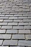 Roof made of black tiles Royalty Free Stock Photo