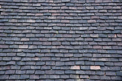 Roof made from stone tiles Royalty Free Stock Photos
