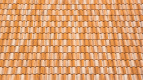 Roof made ​​of tiles Stock Photos
