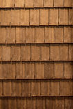 The roof  made of wood Royalty Free Stock Photos