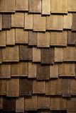 The roof  made of wood Stock Photo
