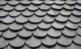 Roof made from wood Stock Image