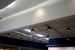 Roof in mall. Design roof in shopping mall Royalty Free Stock Photos