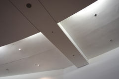 Roof in mall. Design roof in shopping mall Stock Photo