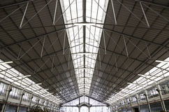 Roof of a market Royalty Free Stock Images