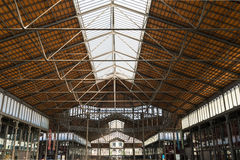 Roof of the Mercat del Born, Barcelona Royalty Free Stock Image