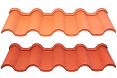 Roof metal Stock Image