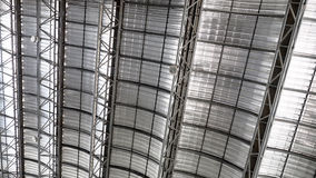 Roof metal sheet cool Stock Images