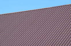 Roof metal sheets Stock Images
