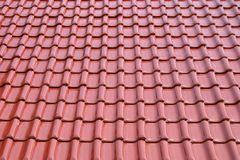 Roof metal tile sheet Royalty Free Stock Photos