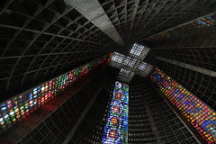 Roof of  Metropolitan  Cathedral Stock Photos