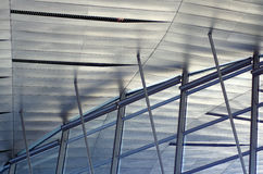 Roof of modern building, detail Royalty Free Stock Images