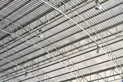 Roof of modern storehouse Stock Photography