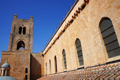 The roof of the Monreale Cathedral in Sicily Royalty Free Stock Photography