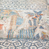 roof mosaic in the old c ity morocco africa and history travel Stock Images