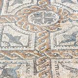 roof mosaic in the old city morocco africa and history travel Stock Images