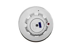 Roof mounted fire alarm Stock Image