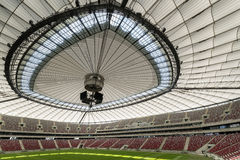 Roof of the National Stadium in Warsaw, Poland Stock Photos