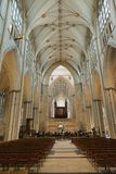 Nave of a cathedral Stock Photos