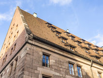 Roof of Nuremberg house Royalty Free Stock Photo