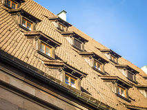 Roof of Nuremberg house Stock Image