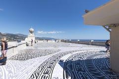 On the roof of Oceanographic Museum of Monaco Stock Image