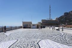 On the roof of Oceanographic Museum of Monaco Stock Photos