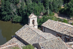 Roof of an old chapel in Toledo Stock Photography