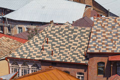 The roof of the Old City Stock Image