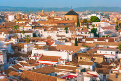 Roof of the old city and church in Cordoba, Spain Stock Photos